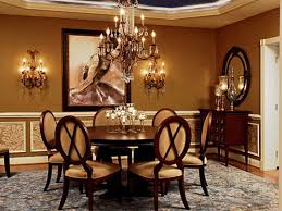 Dining Room  Decorating Ideas For Dining Room Glamour Chandelier - Mirrors for dining room walls