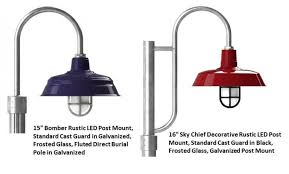 exterior post mount led lighting offers chic savings