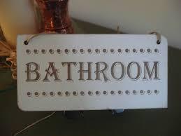 wooden bath door home bathroom shabby distressed vintage