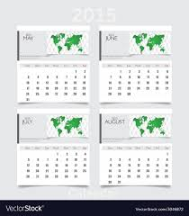 Calendars For June And July 2015 Simple 2015 Year Calendar May June July August
