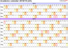 17 Unique Academic Year Wall Chart