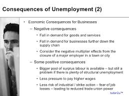 Effect Of Unemployment On Economy Magdalene Project Org