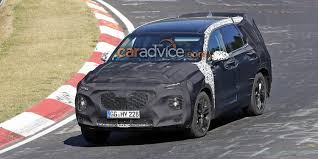 2018 hyundai santa fe concept. perfect concept 2018 hyundai santa fe spied at the nurburgring to hyundai santa fe concept