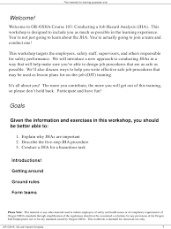 Job Hazard Analysis Worksheet Job Hazard Analysis