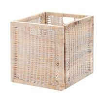 <b>Корзина</b> декоративная <b>Rattan grand</b> amsterdam white wash <b>купить</b> ...