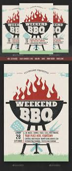 cookout fundraiser flyers weekend sunday bbq flyer flyer template template and party flyer
