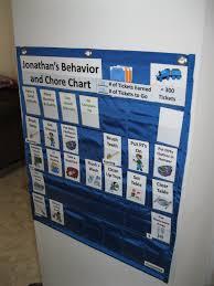 behavior chore chart