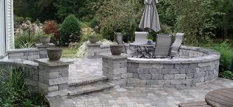 attractive design cost of stone patio ideas credainatcon com brilliant backyard livetomanage