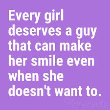 cute boyfriend es a guy that can make her smile