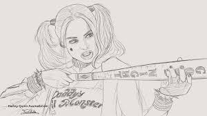 30 Super Harley Quinn Ausmalbilder Ausdrucken Blupebblecom