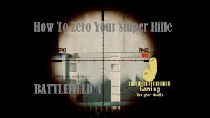 to Zero A Sniper Rifle in Battlefield 4 ...