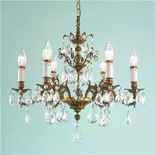antiques crystal lamps attractive vintage chandelier with antique 6 arm brass stem h e l o inspirations waterford table
