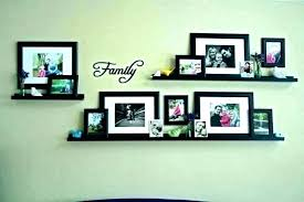 family picture frame wall decor