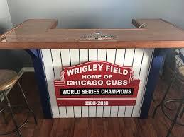chicago cubs home bar basement bar