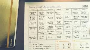 Example Calendar Create A Workout Template To Track Your Fitness ...