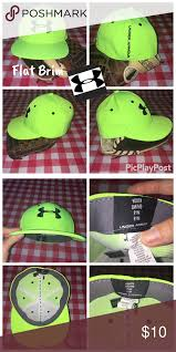 Under Armour Youth Stretch Fit Flat Brim Hat Under Armour