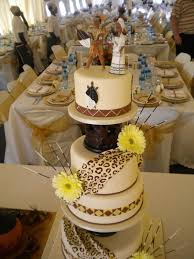 8 African American Wedding Cakes Design Photo South African