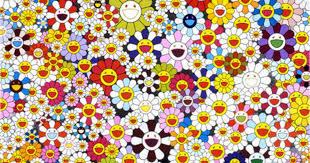 Flower wallpaper iphone wallpaper murakami flower marilyn minter best friend wallpaper superflat jeff koons takashi murakami art. The Art Of Takashi Murakami Cbs News