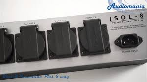 <b>Сетевой фильтр Isol-8 Powerline</b> Plus 6 way - YouTube