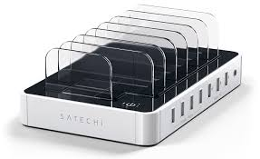 Док-станция <b>Satechi 7</b>-<b>Port</b> USB Charging Station Dock ST-MCS7W ...