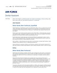 Dental Officer Sample Resume Bunch Ideas Of Air force Resume Examples with Dental Officer Sample 1