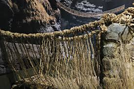... DC The Inca rope bridge in 'The Great Inka Road: Engineering an Empire'  at