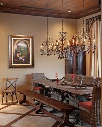 catchy rustic chandeliers wrought iron with rustic dining room with large wrought iron chandelier over round