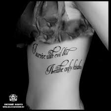 надписи на боку Tattoo Magnum