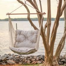 outdoor tufted hammock chair