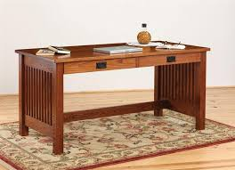 holmes mission writing desk from dutchcrafters amish furniture with regard to craftsman style desks plans 5