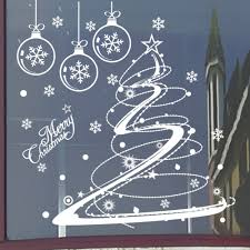 Christmas Decorations For The Wall Aliexpresscom Buy 2016 Christmas Wall Window Glass Decal