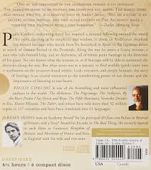 the alchemist cd paulo coelho jeremy irons  the alchemist cd paulo coelho jeremy irons 9780694524440 com books