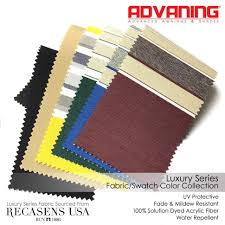 Awning Colors Fabric A E Dometic 8500 Sunbrella Color Chart