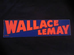 political campaign bumper stickers 1968 george wallace independent election bumper sticker bills