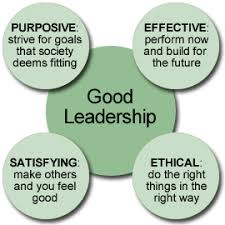 great leadership is good leadership bull  good as effective