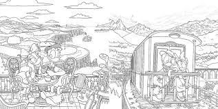 ラブラブ ディズニー塗り絵レッスンブック発売株式会社エムディエヌ