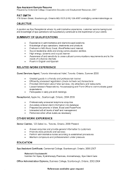 Concierge Resume Examples Download Concierge Resume Objectives
