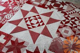 Piece N Quilt: Red & White Modern Building Blocks Quilt - Custom ... & I say this all the time, but, I don't like to quilt two quilts exactly the  same. Mostly because my moods and ideas are always changing. Adamdwight.com