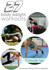 27 bodyweight exercises workouts for