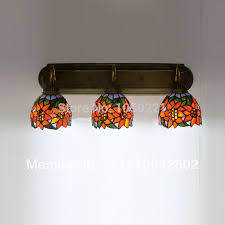 vintage light wall terranean style bedroom wall light for painting sunflower wall light 3 lights