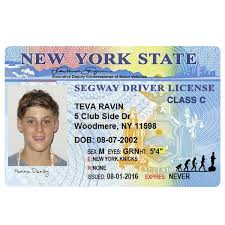 Best Tour Segwaymaui Segway Driver's Original License