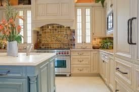 Cream Color Kitchen Cabinets Cream Colored Kitchen Cabinets With Glazing Cream High Gloss