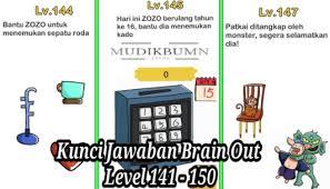 Jun 09, 2021 · jangan lupa cek level selanjutnya di sini : Kunci Jawaban Brain Out Level 1 223 Terlengkap 2021