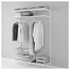 catchy ikea algot system with ikea mesh drawers and bookshelf wall mount