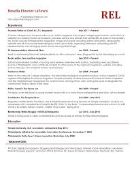 Beautiful What Should A Good Resume Look Like Gallery Simple
