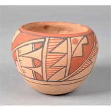 A Native American Pottery Jar