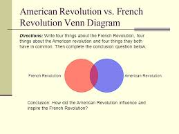 american revolution and french revolution venn diagram chapter 19 the french revolution and napoleon 1789 1815 copyright