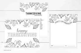 For kids & adults you can print thanksgiving or color online. Free Thanksgiving Coloring Pages Lil Luna