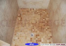 how to clean ceramic tile shower image cabinetandra