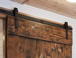 image of barn door sliding hardware exterior